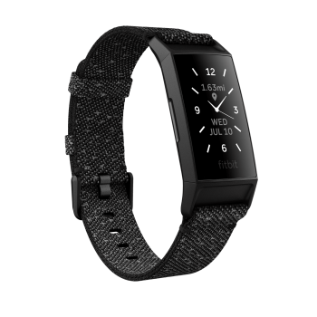 Fitbit Charge 4 Special Edition Fitness Tracker - Granite Reflective Woven