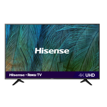 "Hisense R6109 Series 50"" 4K UHD ROKU SMART TV"