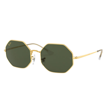 Ray-Ban Octagon 1972 Legend Gold Sunglasses - Gold/Green Classic G-15