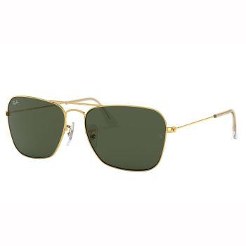 Ray-Ban Caravan Sunglasses - Arista/Crystal Green