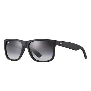 Ray-Ban Justin Classic Sunglasses - Matte Black/Grey Gradient