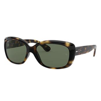Ray-Ban Jackie Ohh Sunglasses - Tortoise/Green Classic G-15