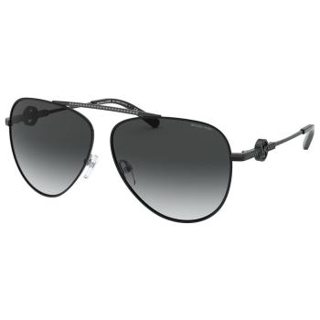 Michael Kors MK-1066B Salina Sunglasses - Shiny Black Frame with Dark Grey Gradient Lens