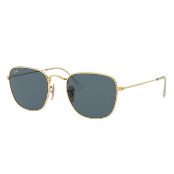 Ray- Ban Frank Legend Gold Sunglasses - Gold/Blue Classic