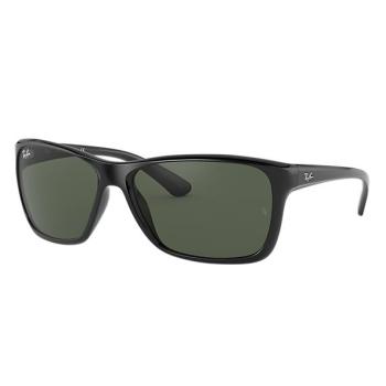 Ray-Ban RB4331 Sunglasses - Black/Green Classic G-15