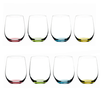 Riedel Happy O Collection Wine Tumbler - Set of 8