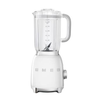 SMEG 50's Retro Style Aesthetic Blender - White
