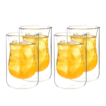 Grosche® Istanbul Double Wall Drinking Glass - Set Of 4