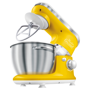 Sencor 4.2-Quart 6-Speed Stand Mixer - Yellow