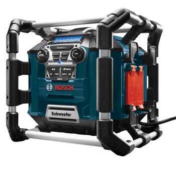 Bosch Power Box Jobsite AM/FM Radio/Charger/Digital Media Stereo with Bluetooth®