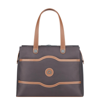 Delsey Chatelet Soft Air Shoulder Tote - Chocolate