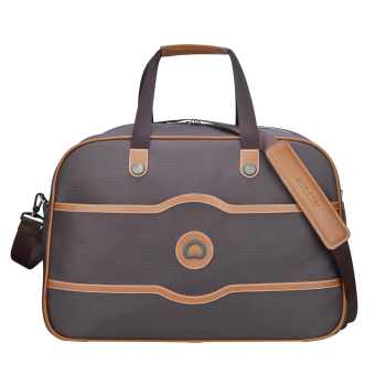 Delsey Chatelet Soft Air Weekender Duffel - Chocolate