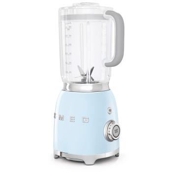 SMEG 50's Retro Style Aesthetic Blender - Pastel Blue