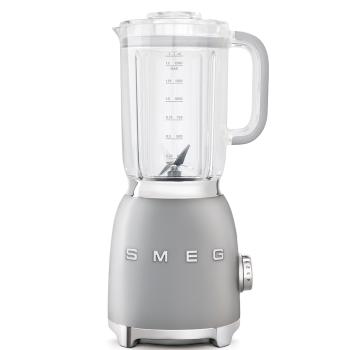 SMEG 50's Retro Style Aesthetic Blender - Silver