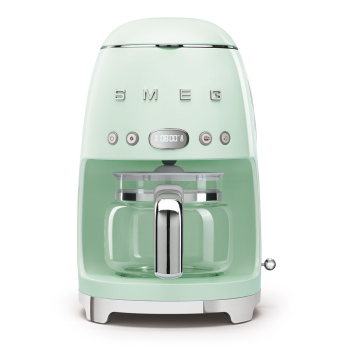 SMEG 50's Retro Style Aesthetic Drip Coffee Machine - Pastel Green