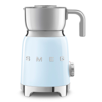 SMEG 50's Retro Style Aesthetic Milk Frother - Pastel Blue