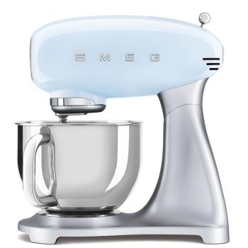 SMEG 50's Retro Style Aesthetic Stand Mixer - Pastel Blue