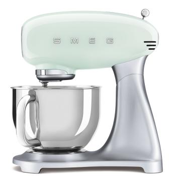 SMEG 50's Retro Style Aesthetic Stand Mixer - Pastel Green