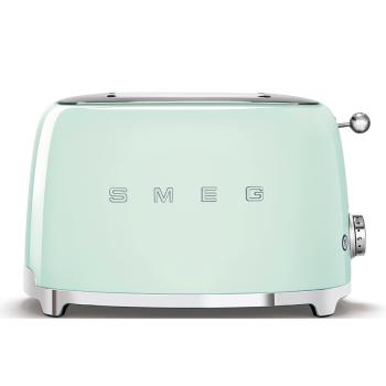 SMEG 50's Retro Style Aesthetic 2-Slice Toaster - Pastel Green