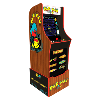 Arcade1Up™ Pac-Man 40th Anniversary Edition™ with Riser and Light-Up Marquee