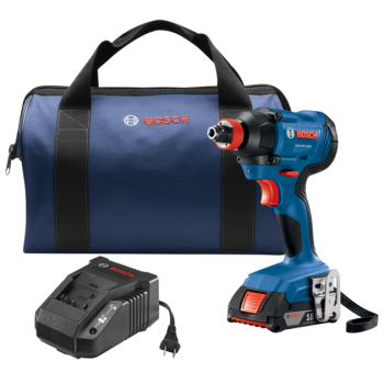 Bosch 18V Freak 1/4 In. and 1/2 In. Two-In-One Bit/Socket Impact Driver Kit