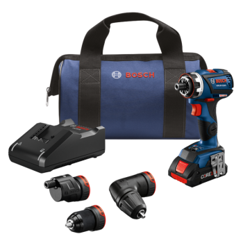 Bosch 18V Flexiclick® Chameleon 5-In-1 Drill/Driver System