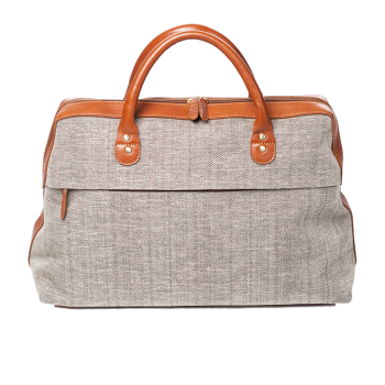 Ebby Rane The Valise - Cognac and Tweed