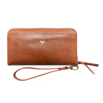 Ebby Rane The Everything Wallet - Cognac