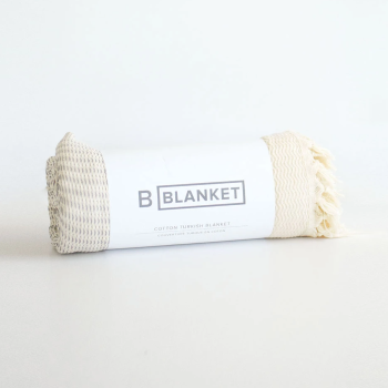 B Yoga The Turkish Blanket - Natural Fog