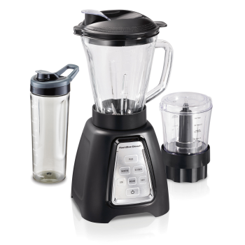 Hamilton Beach® MultiBlend® System with Glass Jar, Travel Jar and Food Chopper