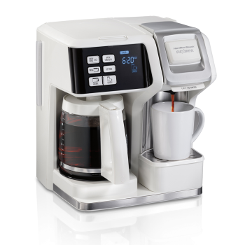 Hamilton Beach® FlexBrew® Single-Serve Coffee Maker - White