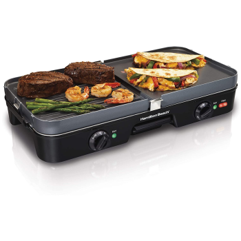 Hamilton Beach® 3-in-One Grill/Griddle