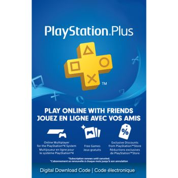 PlayStation Plus 12 Month Membership - Electronic Code [Download]