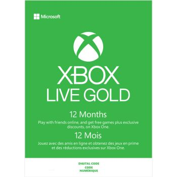 Xbox Live 12 Month Gold Membership [Download]