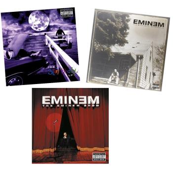 The Eminem Vinyl Bundle - Marshall Mathers(2LP), The Slim Shady (2LP) & The Eminem Show (2LP)