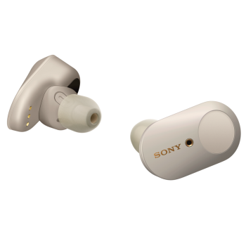 SONY® WF-1000XM3 Noise Canceling Truly Wireless Earbuds - Silver