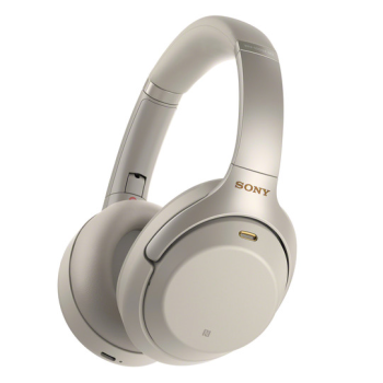 SONY® WH-1000XM3 Wireless Noise Cancelling Headphones - Silver