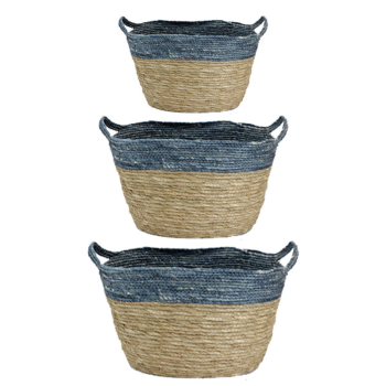 Koppers Home Oval Baskets - Set of 3