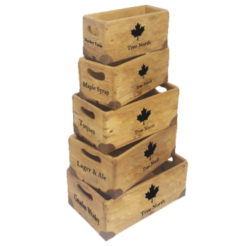 Koppers Home Canada Crates - Set of 5