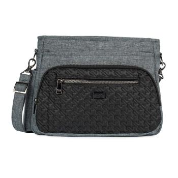 LUG® Shimmy SE Crossbody Bag - Heather Black