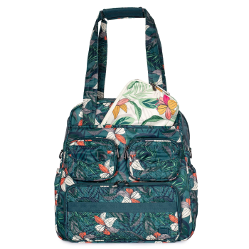 LUG® Puddle Jumper Tote & Packable Set - Lily Teal