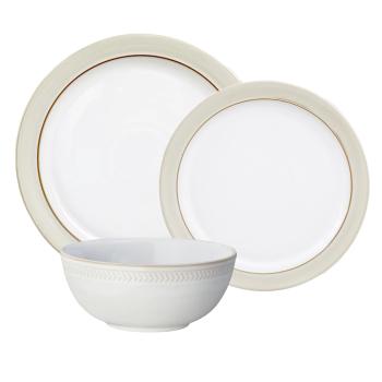 Denby Natural Canvas 12-Piece Dinneware Set