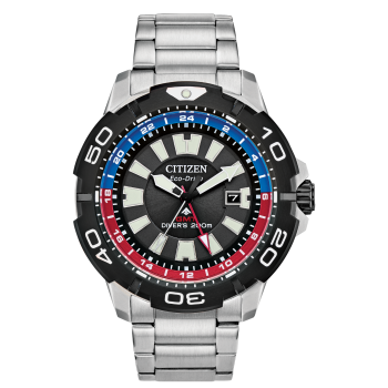 Citizen Men's Eco-Drive Promaster GMT Diver Watch