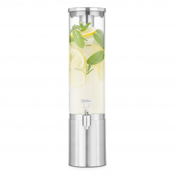 Final Touch® 2.5L Stainless Steel & Glass Beverage Dispenser