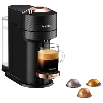 Nespresso Vertuo Next Coffee and Espresso Machine - Black with Rose Gold