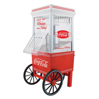 Nostalgia™ Coco-Cola®  12-Cup Hot Air Popcorn Maker