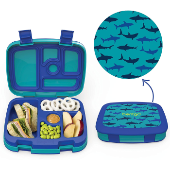 Bentgo® Kids Prints Lunch Box - Sharks