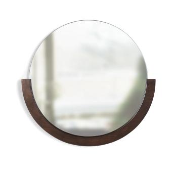 Umbra® Mira Wall Mirror - Aged-Walnut