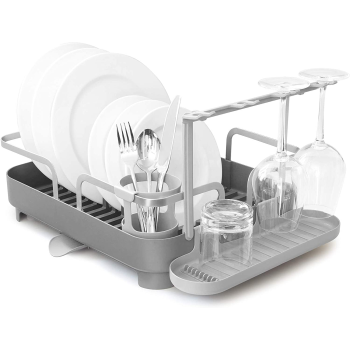 Umbra® Holster Dish Rack - Charcoal