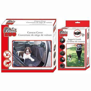 Danazoo Joggers Leash & Seat Cover Combo